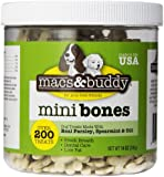 Macs & Buddy Fresh Breath Mini Bones, 14-Ounce