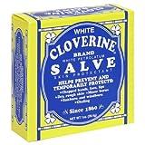 White Cloverine Salve, White Petrolatum Skin Protectant, 1 oz (28.4 g) (Pack of 6)