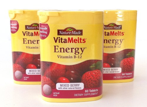 Nature Made Vitamlts Energy Vitamin B-12 (Pack of 3) (Nature Made Vitamelts Energy compare prices)