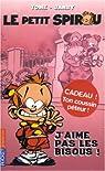 Le Petit Spirou, Tome 2 : J'aime pas les bisous ! par Tome
