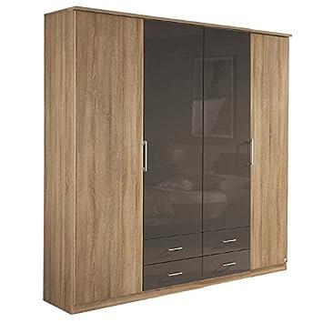 Kleiderschrank RINOA221 Eiche Sonoma / lavagrau