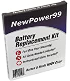 Battery Replacement Kit for the Barnes and Noble NOOK Color eReader with Installation Video, Tools, and Extended Life Battery