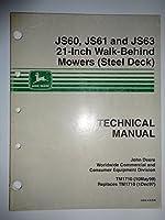 """John Deere JS60 JS61 JS63, 21"""" Walk..."""