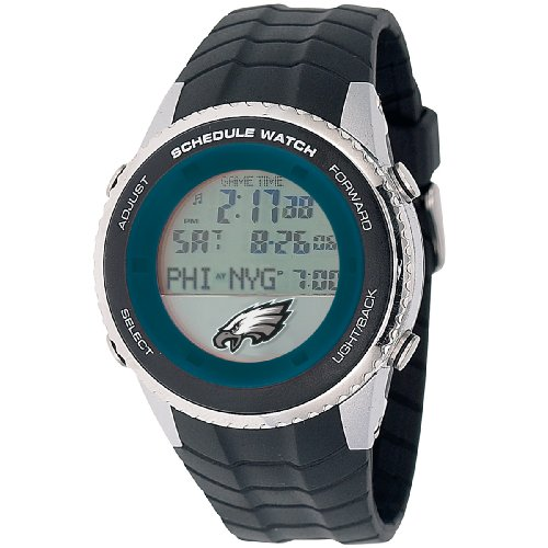 NFL Men's NFL-SW-PHI Schedule Series Philadelphia Eagles Watch