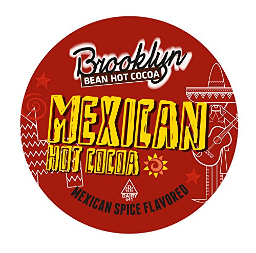 Brooklyn Bean Roastery Mexican Single-Cup Hot Cocoa for Keurig K-Cup Brewers, 40 Count (Spicy Hot Chocolate compare prices)