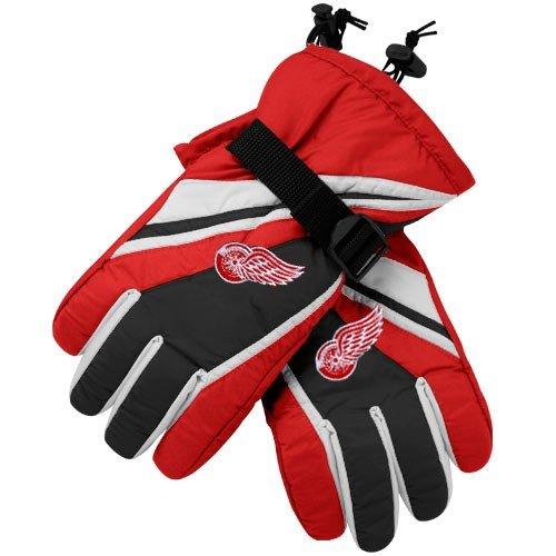 Reebok Detroit Red Wings Red Team Logo Padded Winter