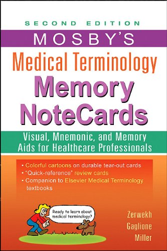 Mosby's Medical Terminology Memory NoteCards, 2e