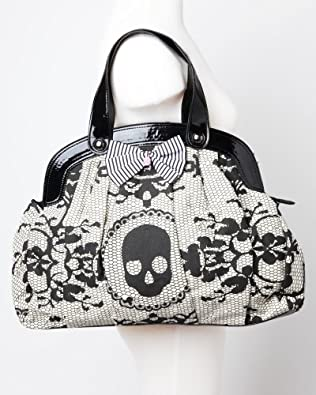Iron Fist Lacey Days Skull Vegan Handbag Purse