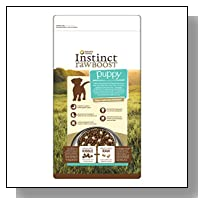 Nature's Variety Instinct Raw Boost Puppy Grain-Free Chicken Meal Formula Dry Dog Food, 5 lb. Bag