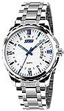 Skmei HMWA05S083C0 Analog White Dial Men's Watch