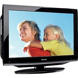 Toshiba 32CV100U 32-Inch 720p LCD/DVD Combo TV (Black Gloss)