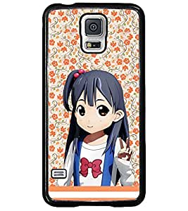 PRINTSWAG CARTOON GIRL Designer Back Cover Case for SAMSUNG GALAXY S5
