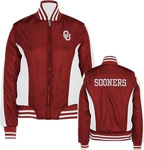 Buy Oklahoma Sooners GIII Ladies Reversible Full Zip Jacket by G-III Sports