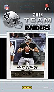 Oakland Raiders 2014 Score NFL Football Factory Sealed 10 Card Team Set with Darren Mcfadden, Matt Schaub, Khalil Mack Plus