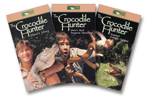 Crocodile Hunter Boxed Set (Steve's Story/Steve's Most Dangerous Adventures/Greatest Crocodile Captures) [VHS]
