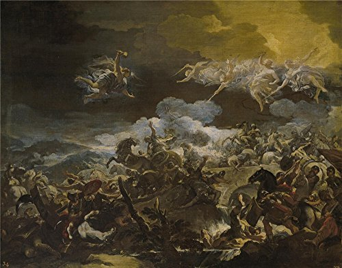 canvas-prints-of-oil-painting-giordano-luca-la-derrota-de-sisara-1690-92-24-x-31-inch-61-x-78-cm-hig