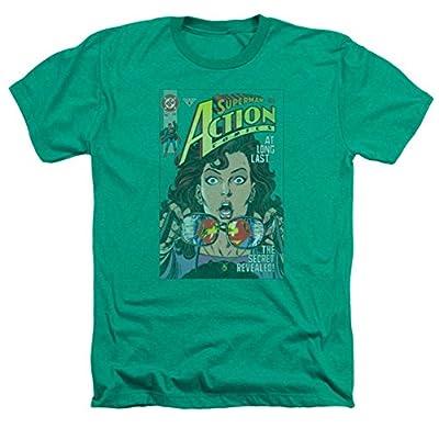 Superman: Secret Revealed Heather T-Shirt
