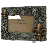 Ll Home Fleur-De-Lis Friends 4 by 6-Inch Photo Frame