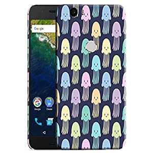 Theskinmantra Jelly Fish back cover for Nexus 6P