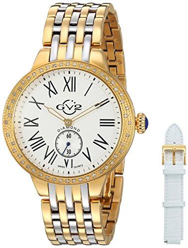 GV2-by-Gevril-Womens-9105-Astor-Analog-Display-Swiss-Quartz-Two-Tone-Watch
