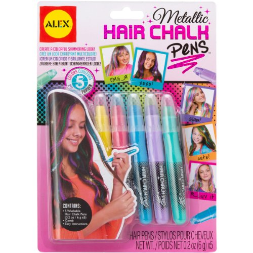 ALEX Toys Spa Metallic Hair Chalk Pens - 1
