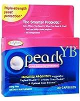 パールズ YB (30粒) カンジタ専用乳酸菌サプリ / Enzymatic Therapy Pearls YB [海外直送品][並行輸入品]