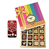 Chocholik Belgium Chocolates - Impressive Collection Of Chocolates And Truffle Gift Box With With 3d Mobile Cover...