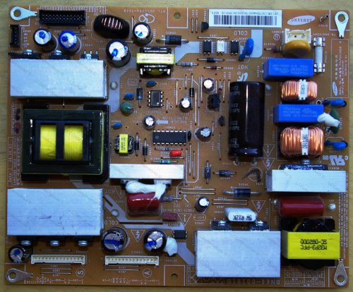 Repair Kit, Samsung LN32A330, LCD TV, Capacitors, Not the Entire Board