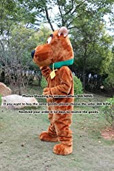 Scooby Doo Dog Cartoon Mascot Costume Character Adult Suit For boy EVA Material by MYOS