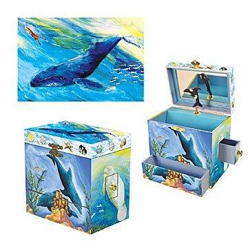 Детская музыкальная шкатулка Ocean Friends Music Box