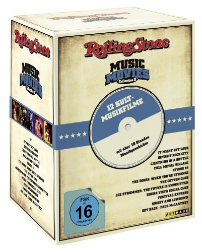 Rolling Stone Music Movies Collection II - Gesamtedition [12 DVDs]