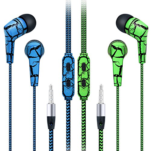 Noise cancelling earbuds tangle free - earphone tangle free cord