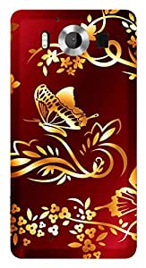TrilMil Printed Designer Mobile Case Back Cover For NOKIA Microsoft Nokia Lumia 950