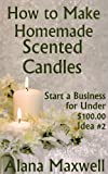 How to Make Homemade Scented Candles (Start a Business for Under $100.00!  Series - Idea #2)