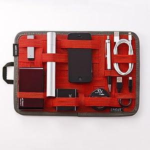 Amazon.co.jp: Cocoon ガジェット&デジモノアクセサリ固定ツール 「GRID-IT! 」 A4サイズ レッド CPG10RD: 家電・カメラ