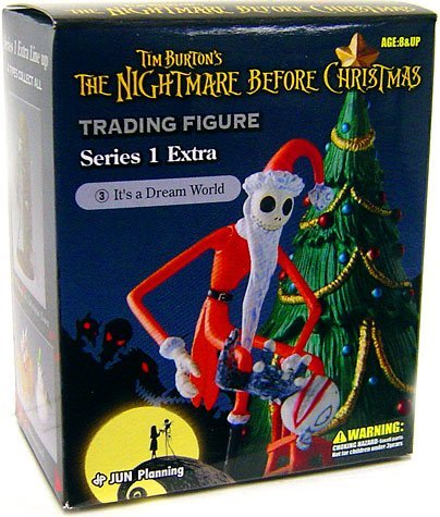 Tim Burton's The Nightmare Before Christmas Series 1 Extra Trading Figure It's A Dream World - 1
