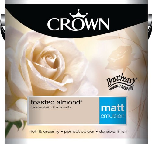 Crown Matt 2.5L Emulsion - Toasted Almond