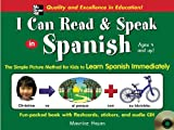 img - for I Can Read and Speak in Spanish (Book + Audio CD) book / textbook / text book