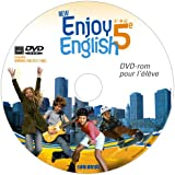 New Enjoy English 5e - DVD rom élève de remplacement