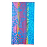 Celebrate Summer Together 1-Piece Starfish and Shells Beach Towel 34