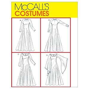 Amazon.com: McCall's Patterns M4490 Misses' Costumes, Size