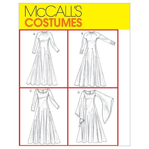 Mc Call´s Schnittmuster 4490 EE Mittelalter Kleid Gr. 14-16-18-20 (40 ...