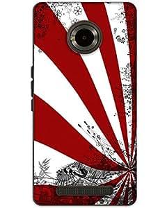 MobileGabbar Micromax Yu Yunique Back Cover Plastic Hard Case