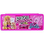 Mattel Barbie Fabulous Pencil Box, Pink
