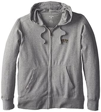 NCAA Pittsburgh Panthers Full Zip Hoodie Mens by Antigua