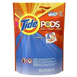 Tide Pods Laundry Detergent Pacs, Original, 35 Count