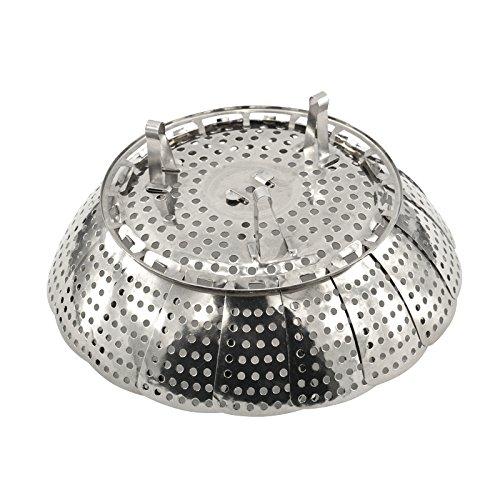 Yaruie vaporera plegable accesorio para cocinar al vapor - Cocinar al vapor con vaporera ...