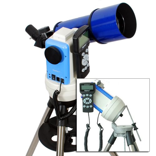 Twinstar Blue 80Mm Ioptron Computerized Gps Equatorial Refractor Telescope
