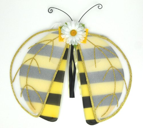 Beverly's Girl's Bumble Bee Wings Yellow/Black