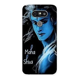 AJAYENTERPRISES Maha Shiva Blue Back Case Cover for LG G5